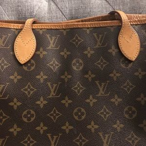 Authentic Louis Vuitton neverfull nm